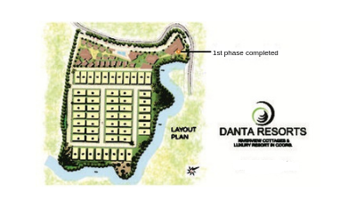 Danta resort madikeri layout-siddeshwar constructions